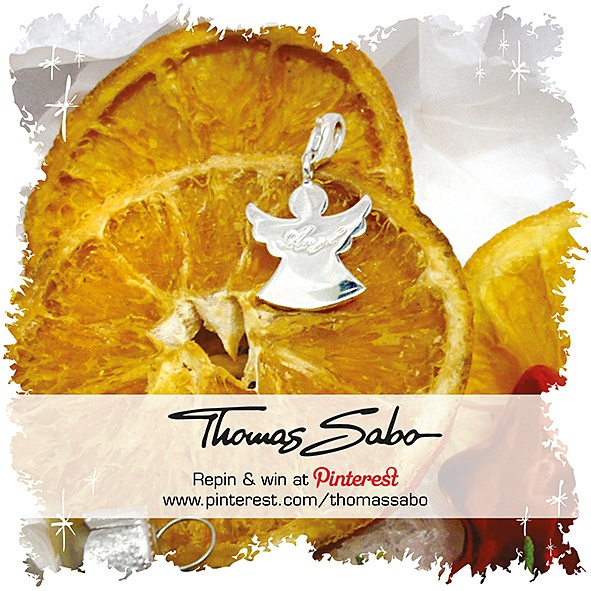 One lucky winner will be drawn on December 3rd, 2012! Important: Your facebook or twitter account must be linked to your Pinterest profile! Terms and conditions: http://images.thomassabo.com/www/2/2012/11/TC-Pinterest-Xmas-Sweepstake.pdf
