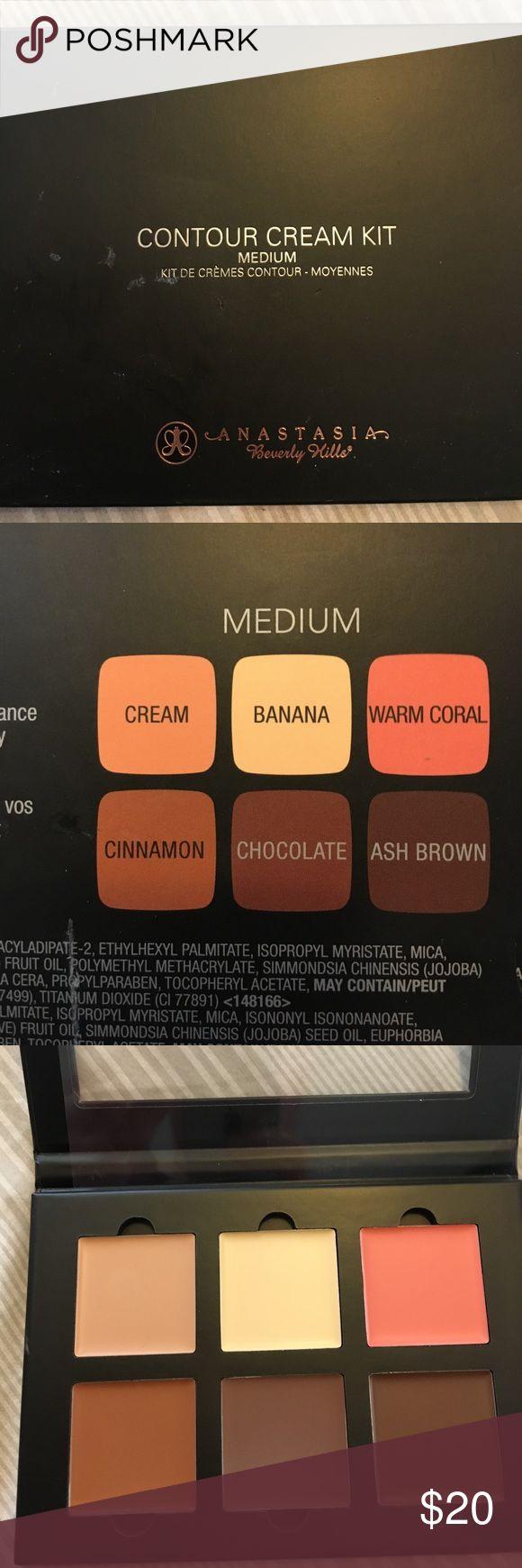 Anastasia Beverly Hills contour cream kit Medium shaded contour cream kit NEVER USED OR SWATCHED Anastasia Beverly Hills Makeup Foundation