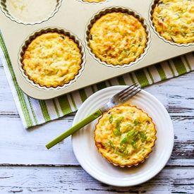 Crustless Breakfast Tart [KalynsKitchen]