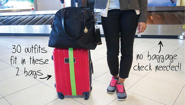 Fit 30 Outfits in Your Carry-On: The Tools & Techniques You Need to Fit It All #travel