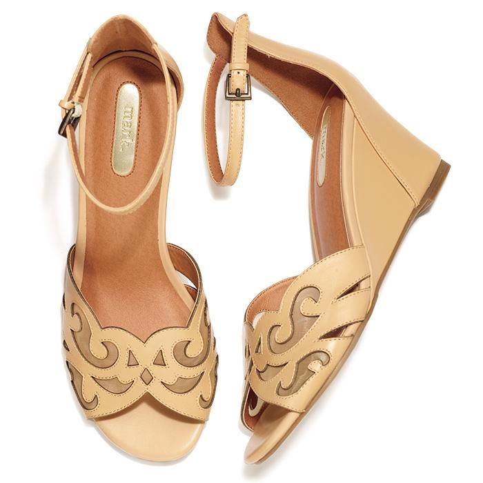 One look at these neutral ankle-strapped sandals and you'll fall head over wedges for their peek-a-boo cutouts! Regularly $40.00, buy Avon Fashion products online at http://eseagren.avonrepresentative.com