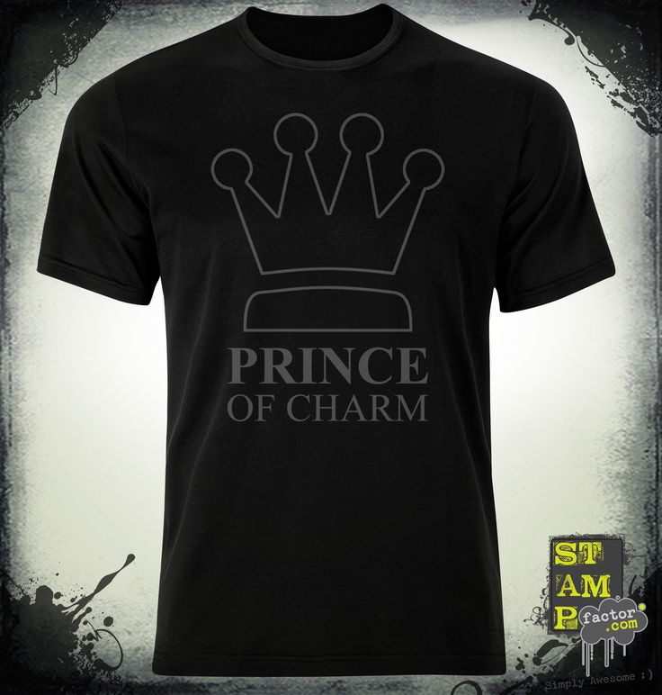 I Am The Prince (Davy's Grey) 2014 Collection - © stampfactor.com *T-SHIRT PREVIEW*