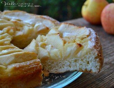 Crostata di mele con pasta frolla alla ricotta