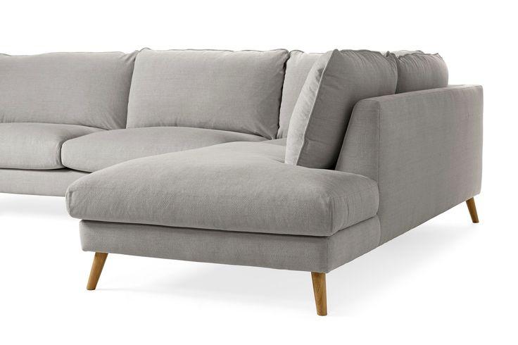 Madison Lux - 3-sits soffa med divan höger | Mio