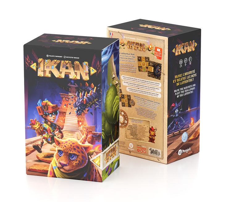 I had the opportunity to work with the Morning Team for their new board game, IKAN: I created and rendered 3D production files and promotional visuals. Hope you like it, if so I invite you to see their games: www.morning.us
