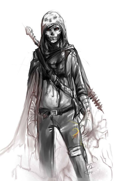 Apparently in some cultures, like Poland and Scandinavia, the Grim Reaper or Death is personified as a woman. Which sounds like an awesome as fuck concept: [x] [x]