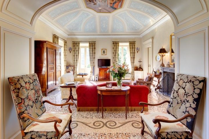 The Drawing Room - Villa Passalacqua   Moltrasio #lakecomoville