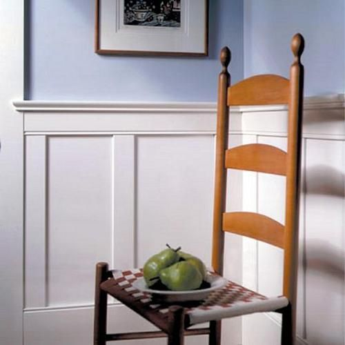 Classic American Flat Panel Wainscoting 4 Foot Kit Interiors Inside Ideas Interiors design about Everything [magnanprojects.com]