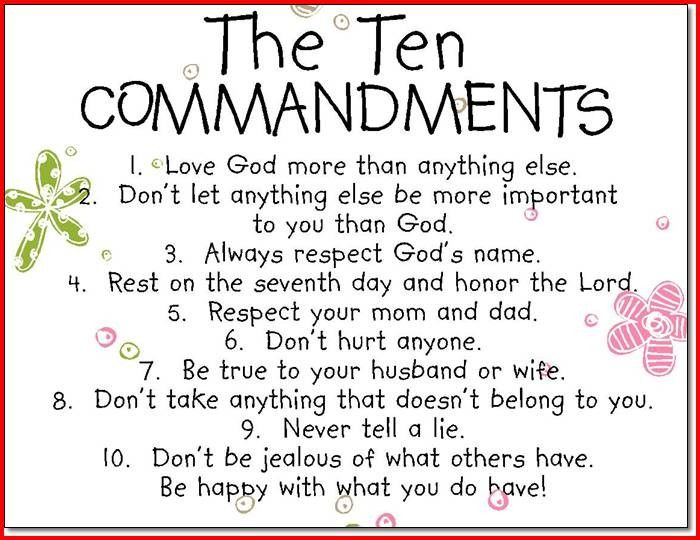 Image Result For Ten Commandments Crafts Inspirational Wall Quotes Quotes For Kids Wall Quotes