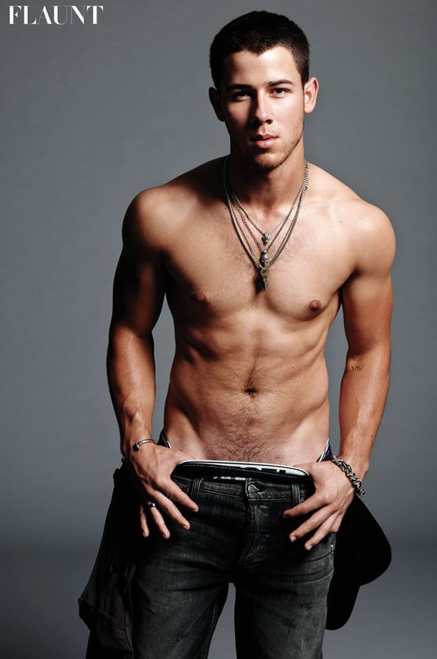 Shirtless Nick Jonas Shows Off His Hot Body—You've Gotta See This New Pic!  Nick Jonas, Flaunt