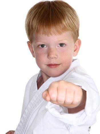 Taekwondo en la infancia.