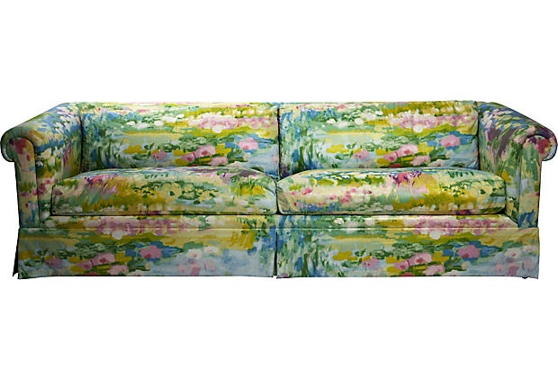 102 best images about chintz on pinterest england tea for Chintz couch