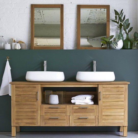 Vasque A Poser Ceramique L 56 X P 42 Cm Blanc Carole En 2020 Vasque A Poser Meuble Pour Vasque A Poser Et Idee Salle De Bain