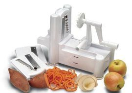 Recipes That Use a Spiral Vegetable Slicer?  Good Questions