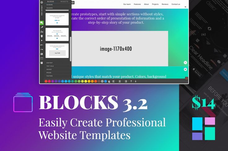 The Amazing New BLOCKS 3.2: Easily Create Professional Website Templates - only ... | Twitter Bootstrap community