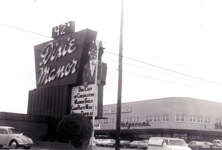 Dixie Manor Shopping Center, 6801 Dixie Highway, Louisville, Ky., 1980's