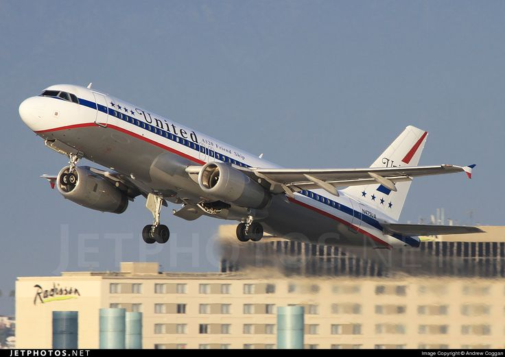 """United Airlines Airbus A320-232 """"Friendship RetroJet"""""""