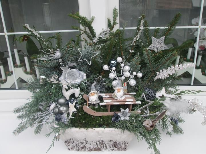 vánoční truhlík