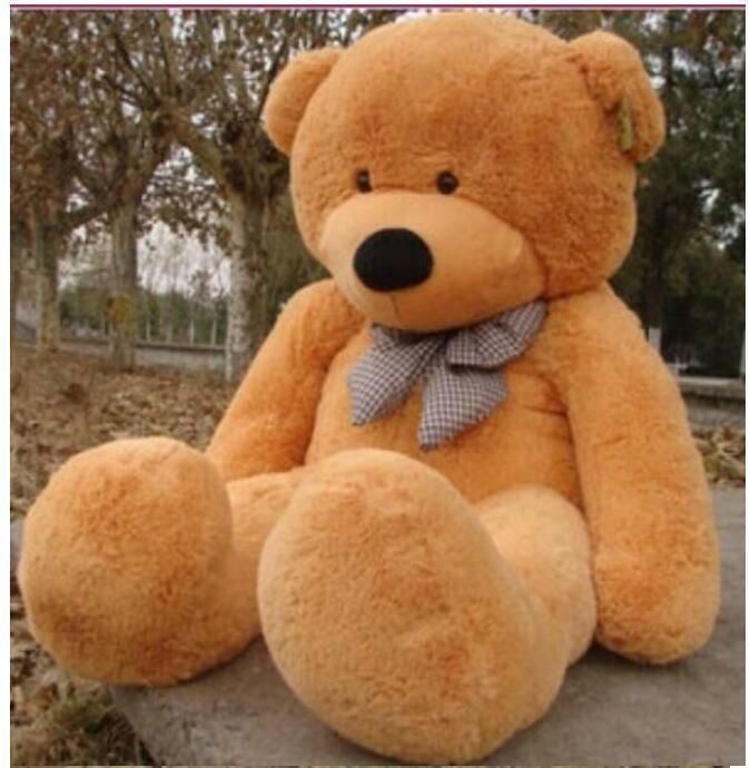 "Giant Teddy Bear Soft Huge Plush Stuffed Dolls Toys 47/"" Valentine Birthday Gift"