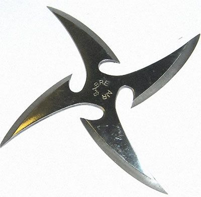 Martial Arts Throwing Star