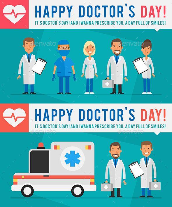 Concept Doctors Day People Doctors Ambulance Car Part 1
