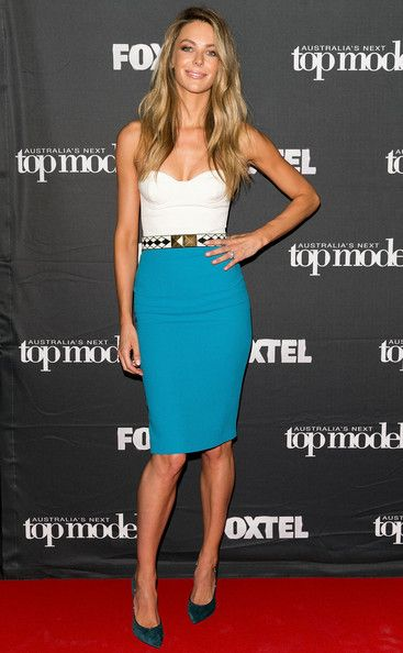 Jennifer Hawkins - 'Australia's Next Top Model' Elimination