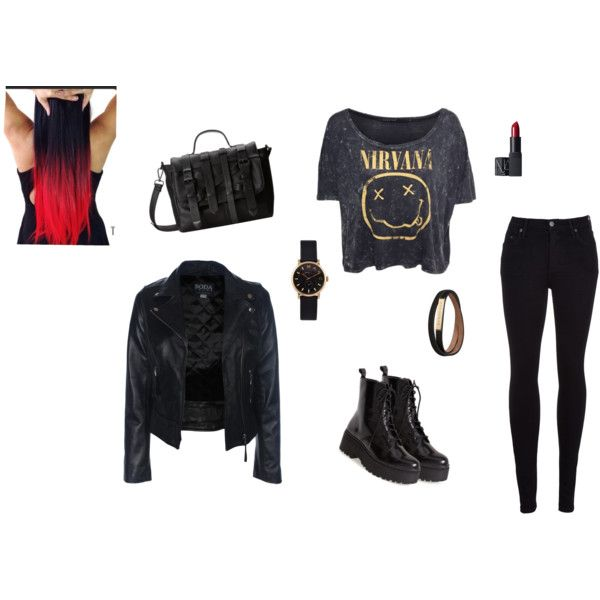 """Metal,Punk style"" by larry69czech on Polyvore"