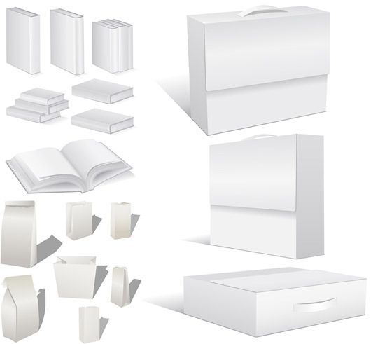 空白书籍包装