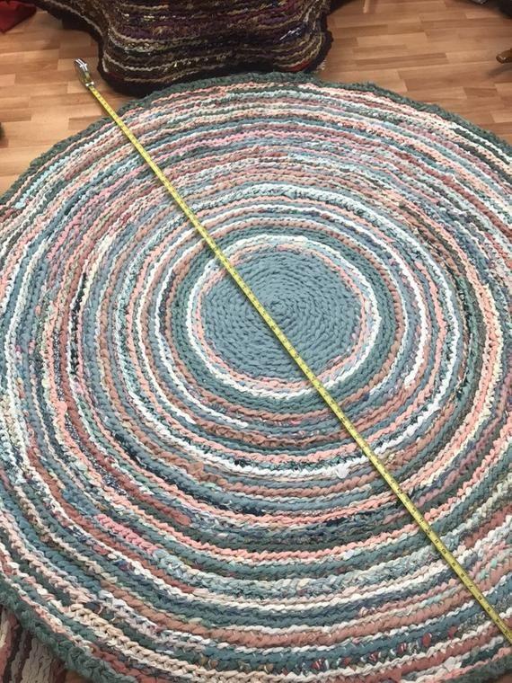Price Drop Coral Sea Handmade Rag Rug Etsy In 2021 Handmade Rag Rug Rag Rug Rugs Handmade rag rugs for sale
