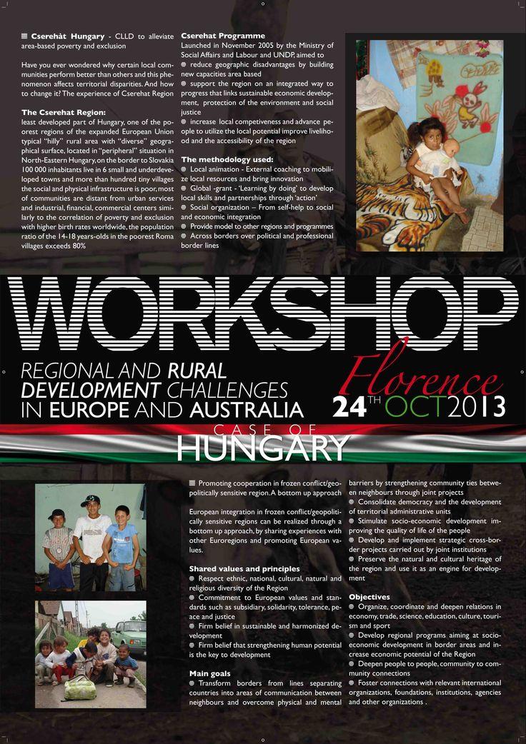 Manifesto (Hungary) 70x100 cm realizzato per FARMAREMMA in occasione del workshop internazionale di Firenze - C&P ADVER