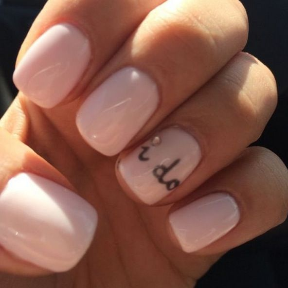 14 Wedding Manicure Accents That Will Add The Touch Of Whimsy Missing On Your…