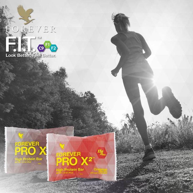Specjaliści przekonują się, że spożywanie odpowiedniej ilości białka, w połączeniu z rozsądną dietą i regularnymi ćwiczeniami, odgrywa rolę w kształtowaniu masy mięśni. Forever PRO X²™ to źródło firmowej mieszanki izolatu białek sojowych oraz koncentratu i izolatu białek serwatkowych PRO X²™, razem z 2 gramami błonnika pokarmowego w każdym pysznym batoniku