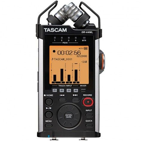 Tascam DR-44WL Portable MP3 Recorder For  Sale Purchase Tascam DR-44WL Portable MP3 Recorder with Wi-Fi features at a big discount offer. Find our cheap multitrack recorder on sale. For more details visit our website or contact: 44028 9032 7357 Price £190.83