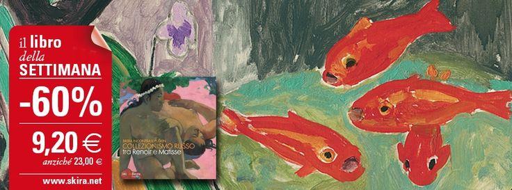 """Il #LibroDellaSettimana è """"Brera incontra il Puškin"""", un'eccezionale selezione di opere di Cézanne, Gauguin, Monet, Matisse, Renoir, Picasso, Rousseau e Van Gogh, proveniente dalle collezioni del Museo Pushkin di Mosca.  Acquista il volume scontato del 60%! http://www.skira.net/capolavori-del-xix-e-xx-secolo-dal-museo-pushkin-di-mosca.html"""