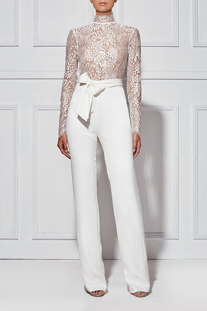 ALLEGRA LACE PANTSUIT - Shop