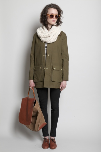 a.p.c. jacket, rachel comey oxfords & illesteva glassesMilitary Jackets, Army Green, Rachel Comey, Fall Style, Comey Oxfords, Ideal Outfit, Fall Outfit, Army Jackets, Fall Attire