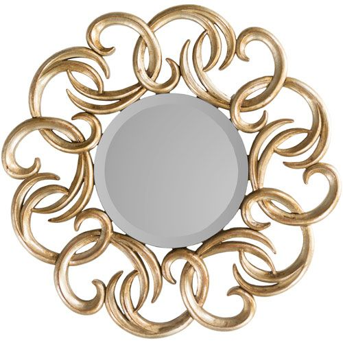 Chanda Gold Wall Mirror