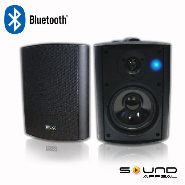 5 25 Bt Blast Indoor Outdoor Bluetooth Spk Black Outdoor Weatherproof Outdoor Speakers Best Outdoor Speakers