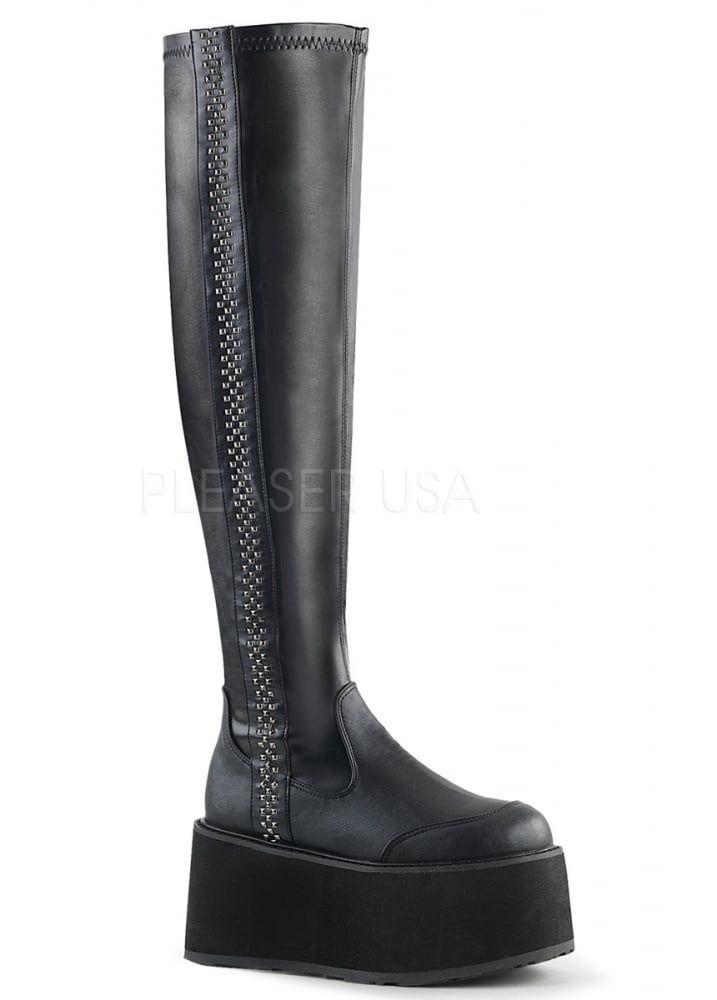 a6366fcfa0f Demonia Damned 302 Thigh High Platform Boot | Wishlist | Thigh high ...
