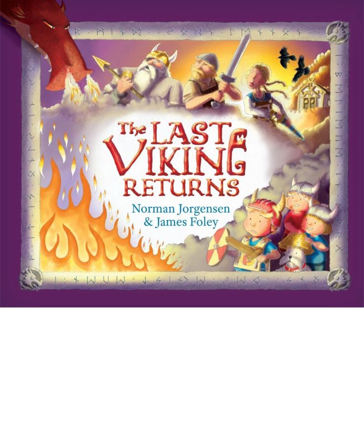 Another rollicking tale of Vikings and dragons. Humorously told bad beautifully illustrated.