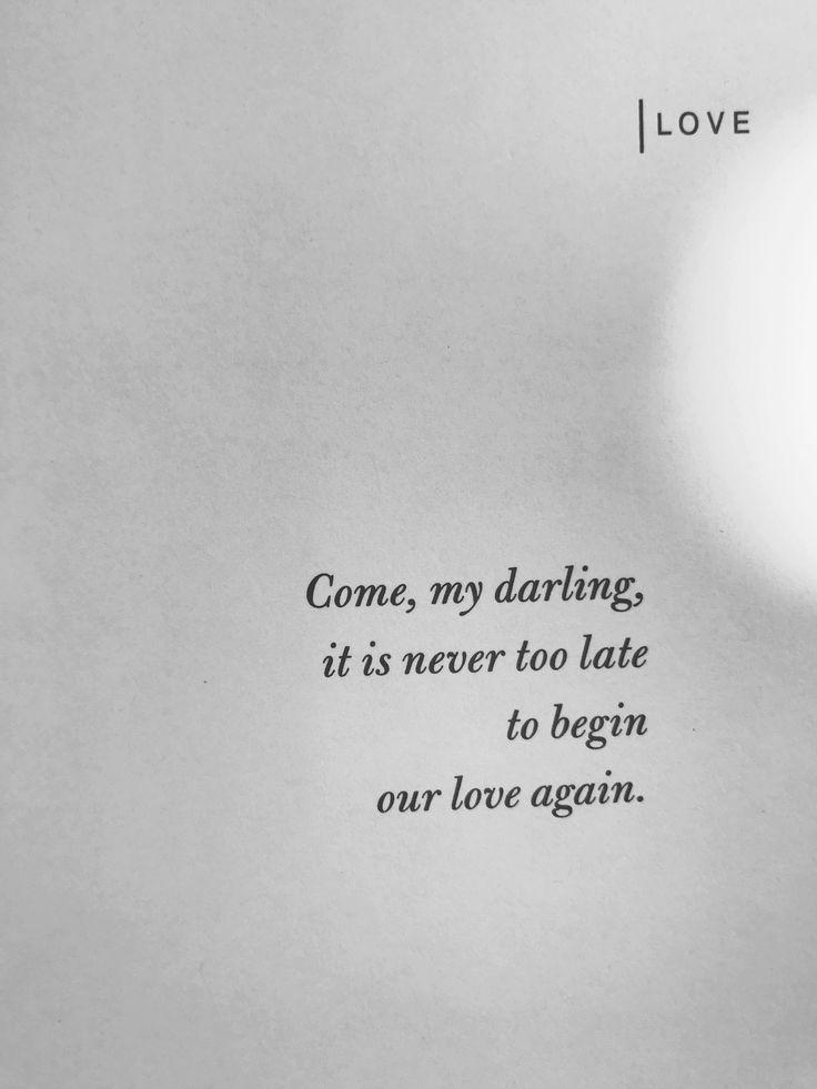 'Begin Again' #atticuspoetry #atticus #loveherwild