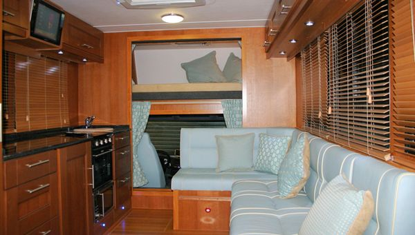 horse lorry interior - Google Search