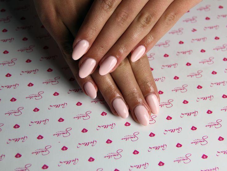 #biscuit #lightpink #pink #longnails #hard #hardi