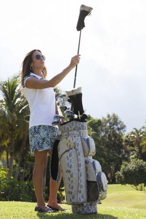 Chardonnay Cutler Ladies Golf Cart Bag! More stylish golf bags at #lorisgolfshoppe