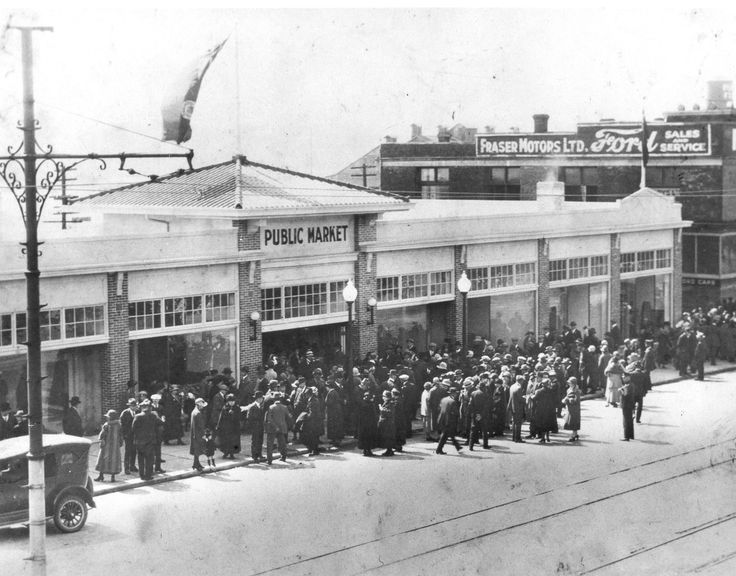 Openng of New Westminster Public Market April 30 1926.