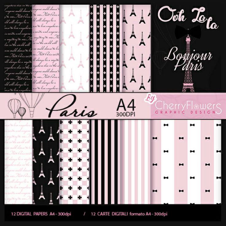 Collezione Paris in formato A4