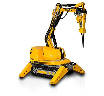 Compact remote controlled demolition #robot - 500 kg, 55 kW by Brokk.  #Industrial machines and equipment on #DirectIndustry