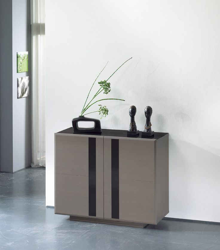 S jour horizon meuble d 39 entr e 2 portes largeur 110 for Meuble tv largeur 110 cm