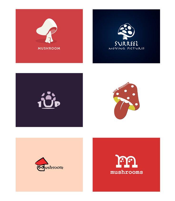25 cool designs of mushroom logo inspiration logos pinterest logos mushrooms and inspiration - Wild mushrooms business ideas ...