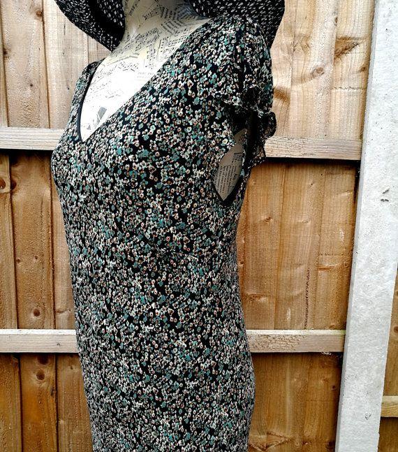 Vintage grunge dress Vintage summer dress by StrawberryfVintage
